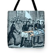 Surgery Without Anesthesia, Pre-1840s Tote Bag