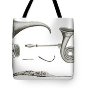 Surgical Instruments, 18th Century Tote Bag
