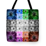 Surreal Poppies Tote Bag