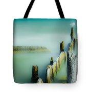 Surreal Sea Gull Tote Bag