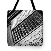 Surveilance Tote Bag