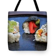 Sushi California Roll Tote Bag