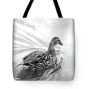 Susie Duck Tote Bag