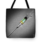 Suspicious Looking Syringe Tote Bag
