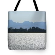 Sutter Buttes And Flooded Rice Field Tote Bag