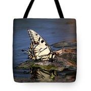 Swallowtail - Walking On Water Tote Bag