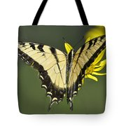 Swallowtail And Friend Tote Bag