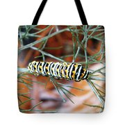 Swallowtail Caterpillar Tote Bag