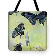 Swallowtail Story Tote Bag