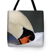 Swan - Soft And Fluffy Tote Bag