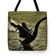 Swan Dance 2 Tote Bag