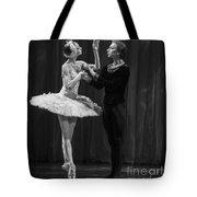 Swan Lake  White Adagio  Russia Tote Bag by Clare Bambers