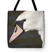 Swan's Head Tote Bag