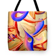 Swaying In Harmony 2 Tote Bag