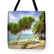 Swaying Palm Trees Tote Bag