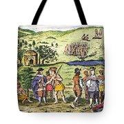 Swedish Colonists, 1702 Tote Bag