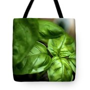 Sweet Basil From The Garden Tote Bag