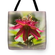 Sweet Dreams Passion Flower Tote Bag
