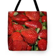 Sweet Florida Strawberries Tote Bag