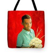 Sweet Grass Flowers Tote Bag