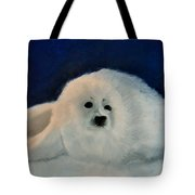 Sweet Little Winter Seal Pup Of My Soul Tote Bag