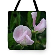 Sweet Pea Blossoms Tote Bag