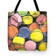 Sweet Tart Candy Tote Bag