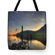 Sweet Wave Of Sunset Tote Bag