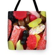 Sweets And Candy Mix Tote Bag