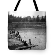 Swiming Time 1945 Tote Bag