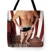 Swimmer 6 Tote Bag by William Dey