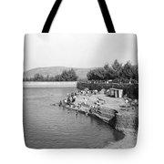 Swimming Resort  Tote Bag