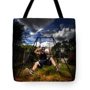 Swinger Tote Bag by Yhun Suarez