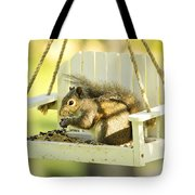 Swingin Squirrel Robber Tote Bag