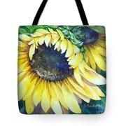 Swingin' Sunflowers Tote Bag