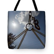 Swinging In A Hammock Tote Bag