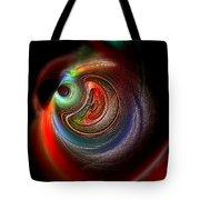 Swirl Of Colors Tote Bag