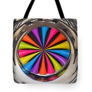 Swirled Color Tote Bag