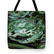 Swirling Algae Tote Bag