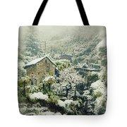 Switzerland In Winter Tote Bag by Joana Kruse