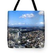 Sydney - Aerial View Panorama Tote Bag
