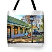 Sylvania Train Station Tote Bag