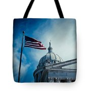 Symbol Of Freedom Tote Bag by Toni Hopper