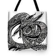Symbol Of The Dragon Tote Bag