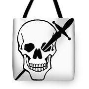 Symbol: Skull & Dagger Tote Bag