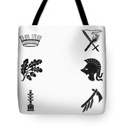 Symbols: Victory And War Tote Bag by Granger