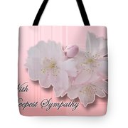 Sympathy - Cherry Blossoms Tote Bag