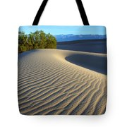 Symphony Of The Sand Tote Bag by Bob Christopher