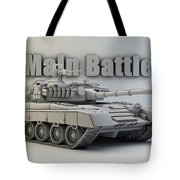 T-80 Main Battle Tank Tote Bag