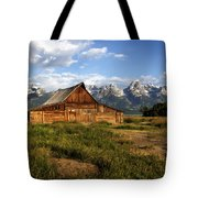 T.a. Moulton Barn Tote Bag